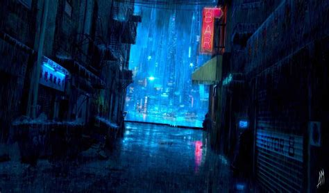 Wallpaper Vortex Anime Scenery | anime scenery wallpaper rain siudy net