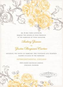 wedding invitation wording invitation templates for wedding