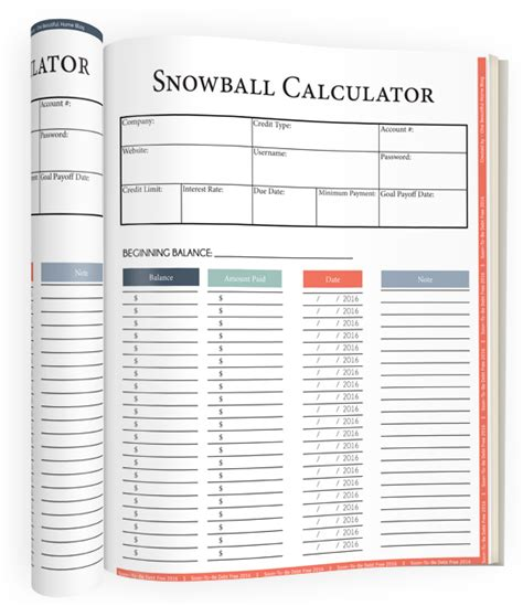 Snowball Debt Plan Worksheet by Soon To Be Debt Free 2016 187 One Beautiful Home