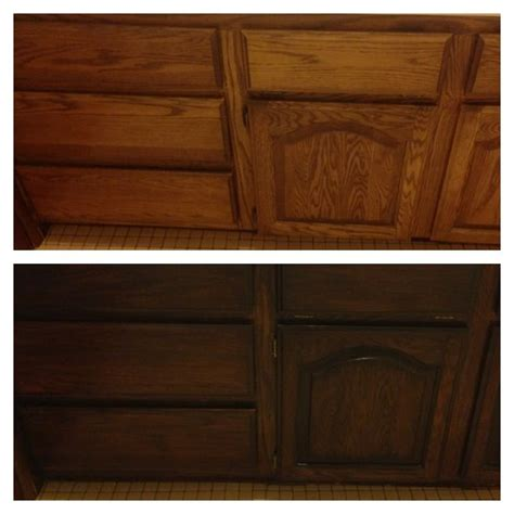 gel stain colors for cabinets my latest transformation with gel stain java i only did