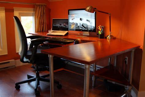 computer desk designs diy diy ergonomic computer desk revisited