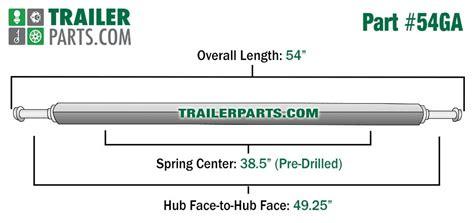 boat trailer axle drain hole galvanized 1 5 quot square trailer axle 1 200 lbs capacity