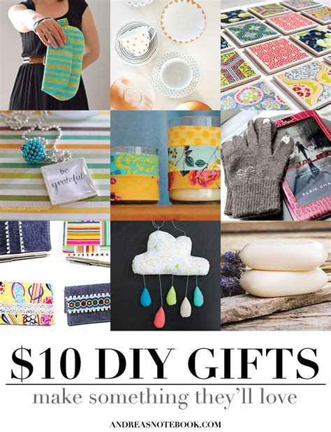 10 Dollar Gifts | handmade gifts under 10 dollars