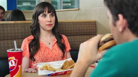dq commercial actress flamethrower dairy queen flamethrower cheeseburger tv commercial last