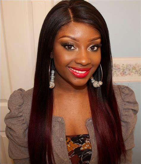 color and highlights for african american women what color highlights for dark brown hair african american