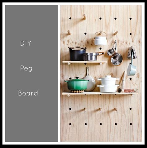 littlebigbell peg board kitchen storage little big bell