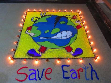rangoli themes on social issues rangoli with a message rangoli diwali askme http www