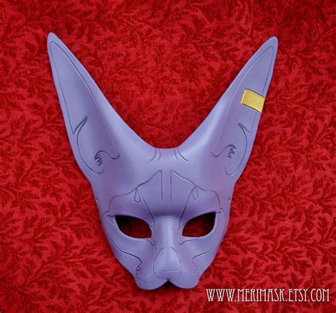 purple sphinx cat mask by merimask on deviantart