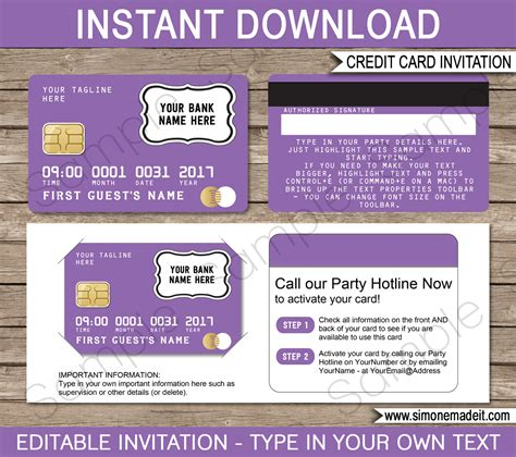 wedding scavenger hunt card templates purple credit card invitations mall scavenger hunt