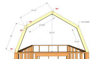gambrel roof barn plans barn plans vip