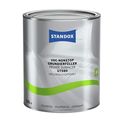 Lackieren Primer by Standox Voc Nonstop Grundierf 252 Ller U7580 3 5 Liter