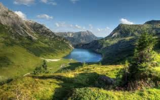 Summer Flowers For Weddings - austria alps mountain lake 6918464
