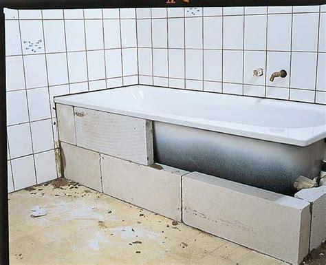 Acryl Badewanne Einbauen Anleitung 6168 by Badewanne Und Duschtasse Einbauen