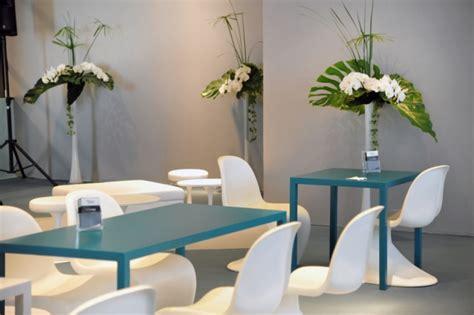 chaise panton blanche location chaise design verner panton vachon decoration
