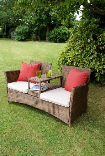 love bench garden furniture 145 best images about rattan benches on pinterest 2