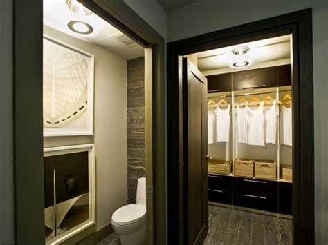 bathroom with walk in closet designs photo page hgtv