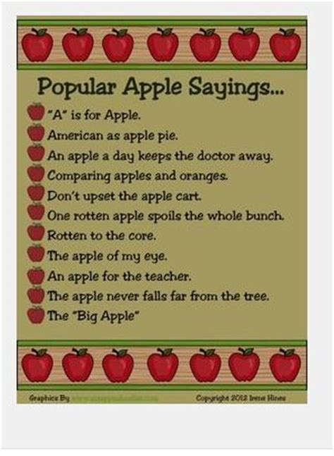 apple quotes 17 best images about apples on pinterest sayings poem
