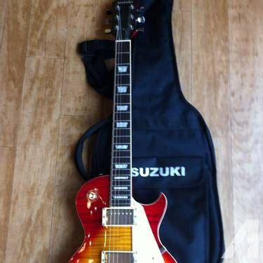 Suzuki Guitar For Sale Electric Guitar Les Paul Style Suzuki For Sale In Millbach