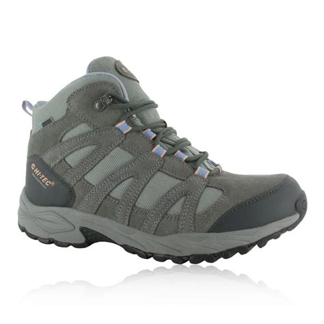 Hi Walk Outdoor Shoes hi tec alto ii mid womens grey waterproof walking outdoors