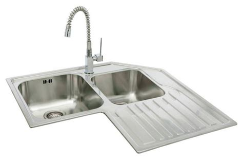 Corner Sinks For Kitchens Home Kitchen Sinks Carron Corner Sinks For Kitchens