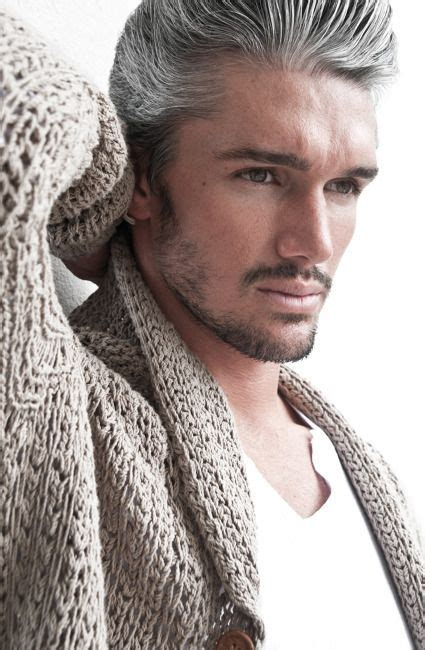 hair modleing men 17 best images about men gray hair on pinterest silver