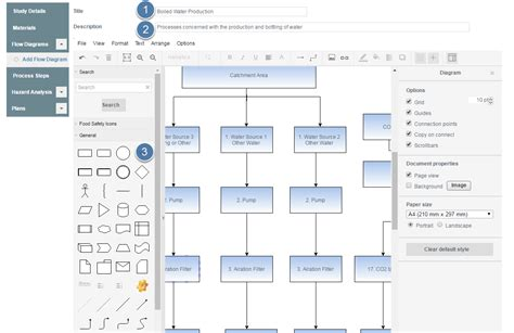 create flow diagram add flow diagram 171 safefood 360 help center