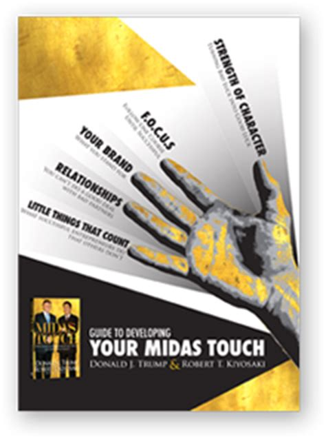 Midas Touch Why Some Entrepreneurs Get Rich And Why Most Don T Ebook donald robert kiyosaki midas touch