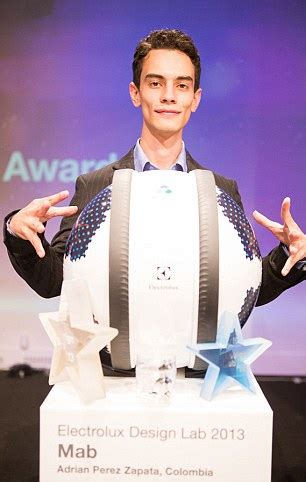 electrolux design contest mab robots housecleaning innovation electrolux design lab competition winnder the mab mini