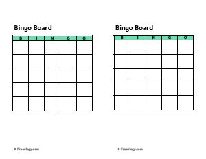 free blank bingo card template for teachers blank bingo cards template freeology