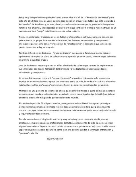 messi biography resume quot fundaci 211 n leo messi rosario argentina quot