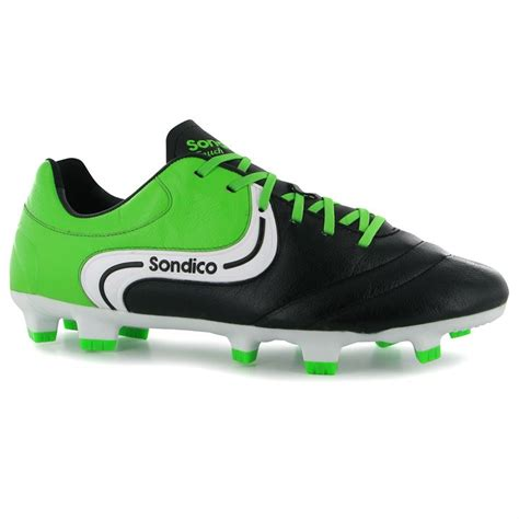 sondico mens gents touch grain leather sports