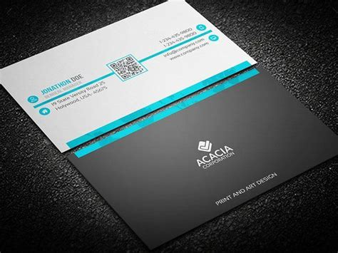 Single Business Card Template Photoshop by Best 25 Custom Business Cards Ideas On Visit