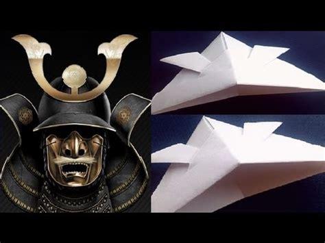 How To Make A Paper Samurai Helmet - how to make a paper samurai helmet