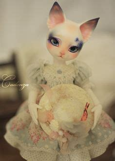 jointed doll cat 1 bjd bjd cats and