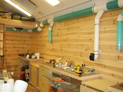 de wuud complete woodworking shop dust collection system