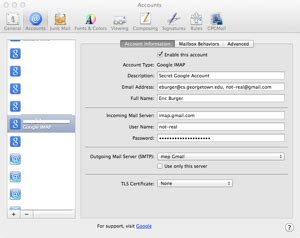 pointers for apps in a mac environment