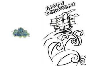 hello birthday card printable free az coloring pages