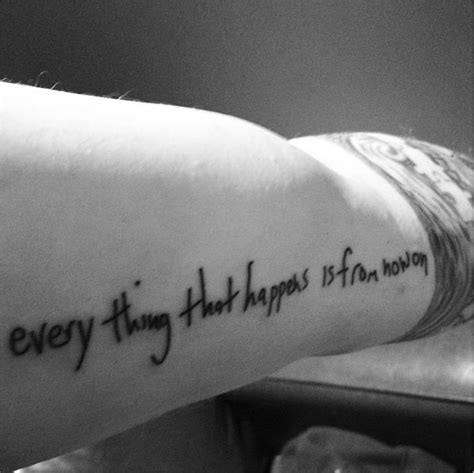 ed sheeran tattoo everything that happens is from now on tatouage koala signification