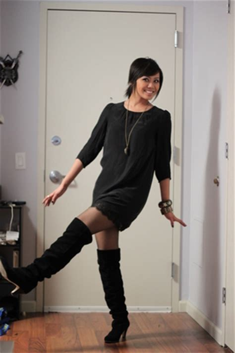 black silence and noise dresses black dolce vita boots