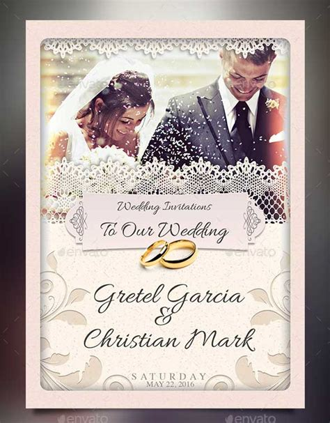 free wedding card templates psd 72 best wedding invitation templates psd photoshop indesign