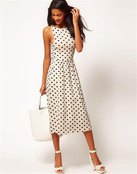 Midi Dress Polkadot Simple 17 best images about polka dots fashion on yayoi kusama louis vuitton handbags and