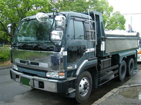 truck nissan diesel 1995 nissan diesel dump truck cw53ahvd for sale in japan