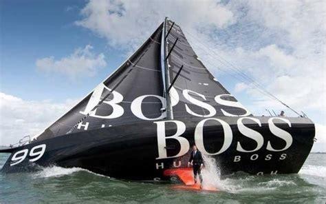 zeilboot james bond les skippers hugo boss font le show sport n
