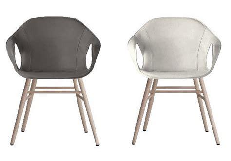 sedie kristalia elephant sedia rivestita su base legno kristalia milia shop