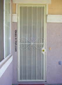Exterior Door Protection Door Security Front Door Security Screen