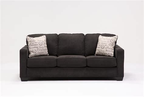 alenya charcoal queen sofa sleeper alenya charcoal queen sofa sleeper living spaces