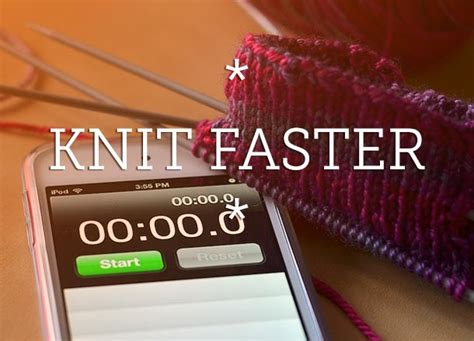 how to knit faster speed knitting tips four tips for fast knitting
