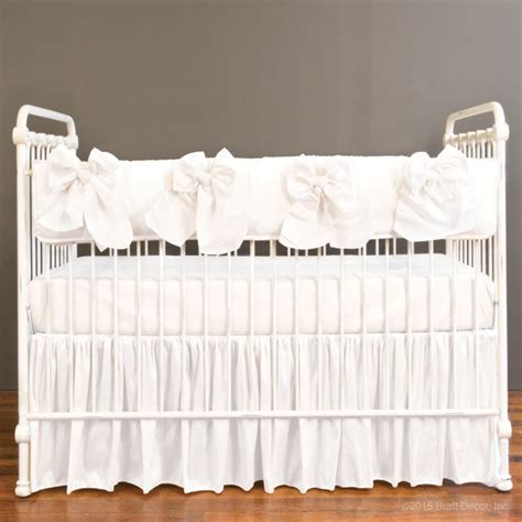 White Crib Rail Cover by Serafina Crib Rail Cover White