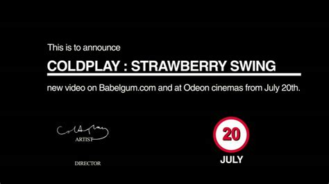 youtube strawberry swing coldplay strawberry swing trailer youtube