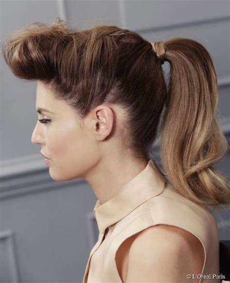 how to recreate 1950s hairstyles how to get a rockabilly ponytail with ombre hair